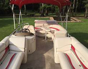 2020 20' Bennington Boat Rental